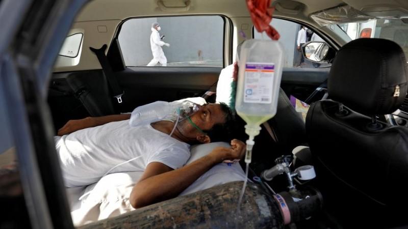 Angka Covid-19 Meledak di India, Rumah Sakit Kehabisan Oksigen