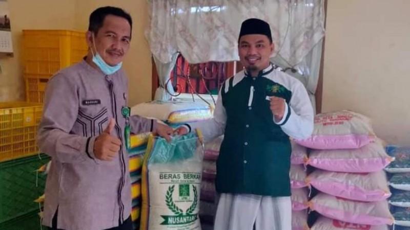 LPNU Sidrap Usaha Penjualan Beras dan Kue Kering