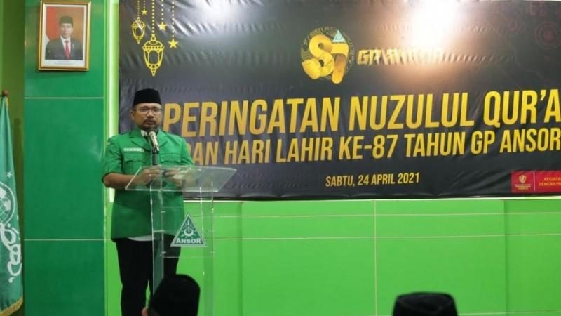 Pandemi Perkuat Transformasi Dakwah GP Ansor