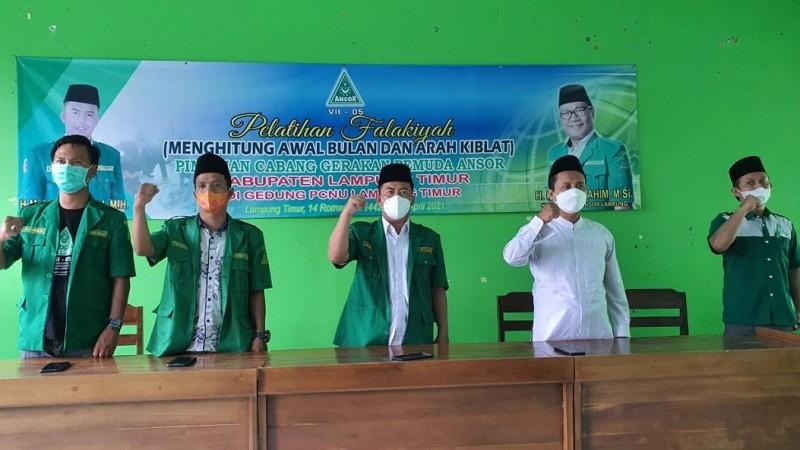 GP Ansor Lamtim Gelar Pelatihan Falakiyah bagi para Kader Muda