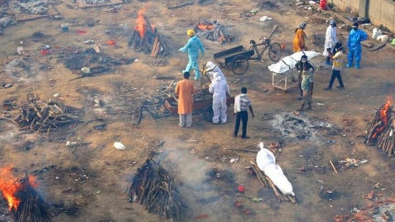 'Tsunami Covid-19' di India Akibat Pengendoran Prokes