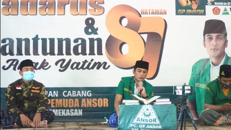 Tak Ingin Dustakan Agama, GP Ansor Pamekasan Santuni  87 Anak Yatim