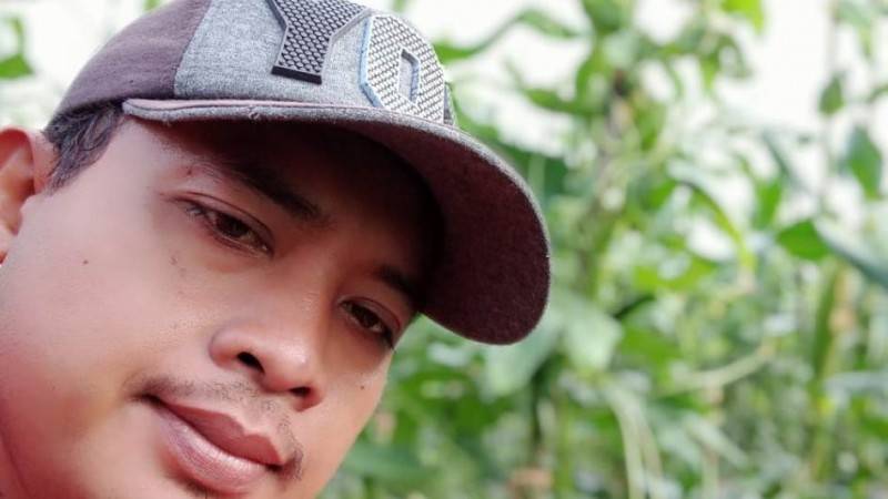 Asep Eka Penggerak Petani Kalteng Ajak Buruh Bangun Pertanian