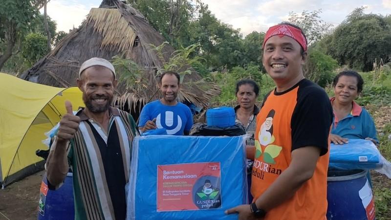 Gusdurian Peduli Bantu Korban Siklon Tropis Seroja di Lembata NTT