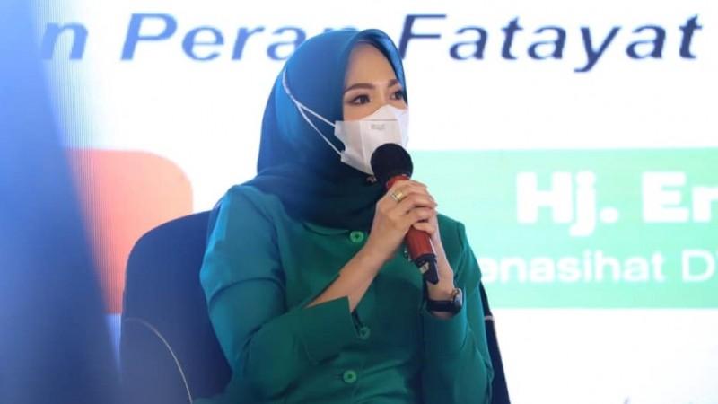 Fatayat NU Jabar Nobatkan Eny Yaqut 'Perempuan Sumber Inspirasi 2021'