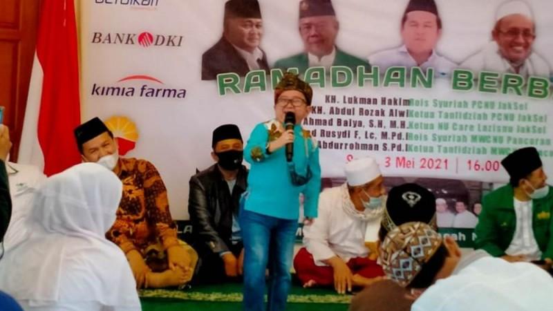 Komedian Daus Mini Mengisi Safari Ramadhan NU Pancoran