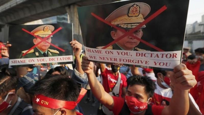 Negara-negara Maju Ambil Sikap atas Junta Militer Myanmar