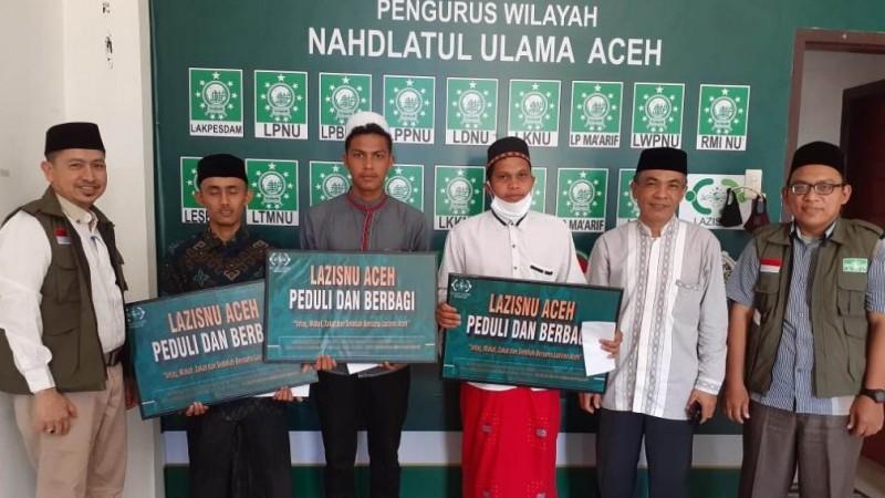 LAZISNU Aceh Salurkan ZISke Mustahik