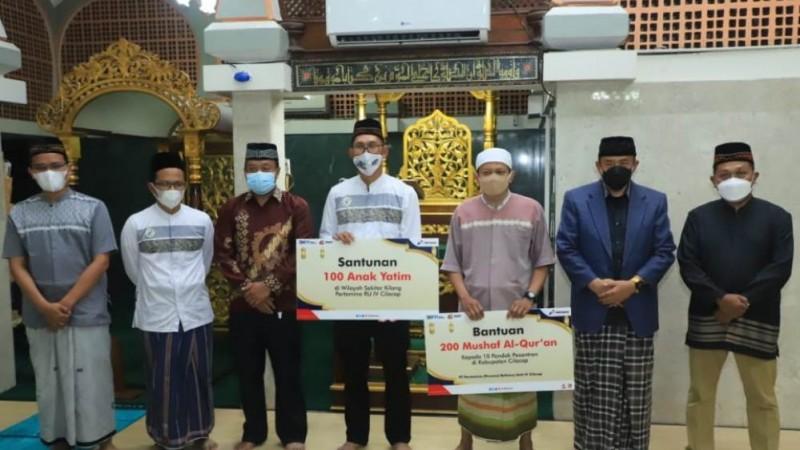 Puluhan Ribu Yatim Dhuafa Terima Santunan Pertamina