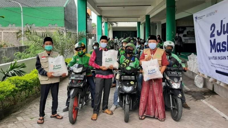 Dari Ngawi hingga Banyuwangi, LAZISNU Jatim Salurkan Bantuan untuk Insan Transportasi