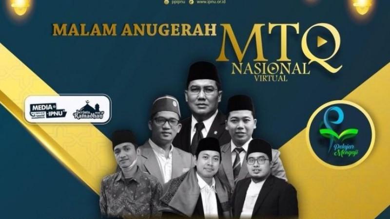 Pimpinan Pusat IPNU Umumkan Juara MTQ Virtual Nasional