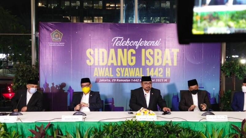 Menag Yaqut Minta Umat Islam Shalat Id di Rumah