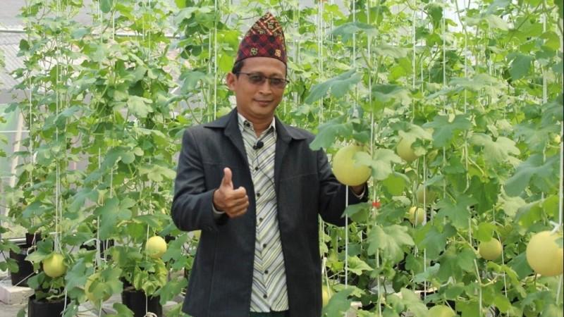 Lima Greenhouse Pesantren di Lampung Gunakan Teknologi Modern IoT