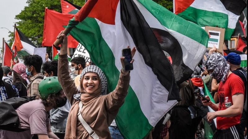 Gelombang Aksi Bela Palestina dari Inggris Hingga AS