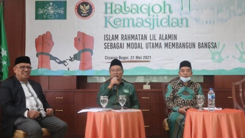 Halaqah Kemasjidan, Ketua PBNU Jelaskan Fungsi Masjid