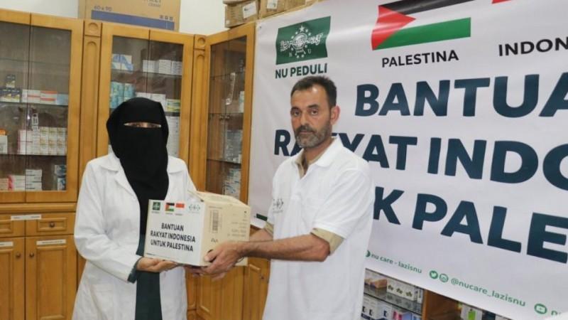 Selain Kebutuhan Pokok, Bantuan NU bagi Rakyat Palestina Berupa Obat dan Peralatan Medis