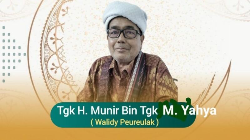 Innalillahi, Ulama Aceh Timur Walidi Peureulak Berpulang