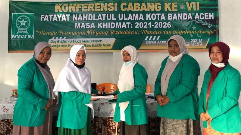 Konfercab Ke-VII, Fatayat NU Banda Aceh Perlu Perkuat Kaderisasi