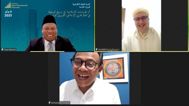 Rektor Komaruddin Hidayat Harap UIII Jadi Pusat Masyarakat Ilmiah