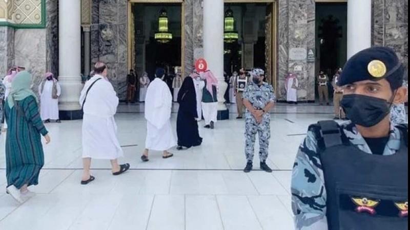 Ketatnya Penjagaan Saat Jamaah Haji 2021 Masuk Tanah Suci