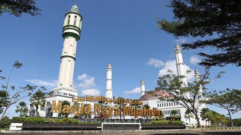 Masjid Terbesar di Kalbar Tiadakan Shalat Idul Adha