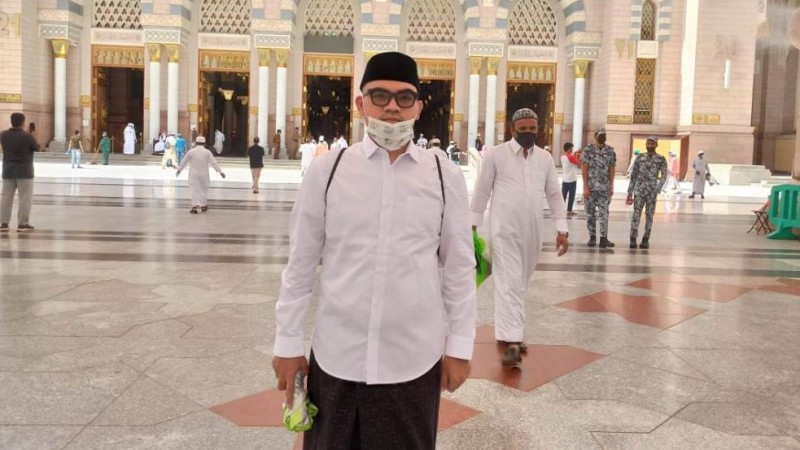 Suasana Shalat Jumat di Masjid Nabawi