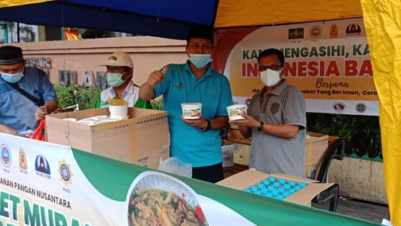 Bantu Warga Terdampak PPKM, LTM PBNU Buka Warung Kerukunan