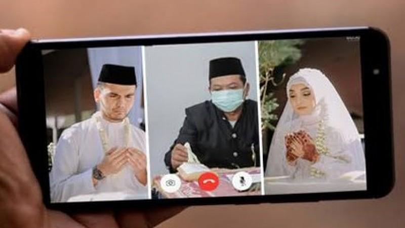 Hukum Akad Nikah via Video Call karena Pandemi