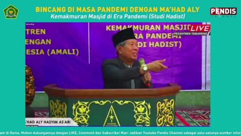 Kiai Musta'in Syafi'i Tebuireng: Jamaah Masjid Harus Patuhi Prokes Covid