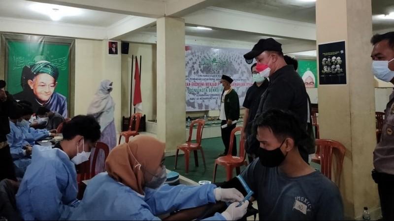 PCNU Kota Bekasi Gelar Vaksinasi 1000 Dosis untuk Umum