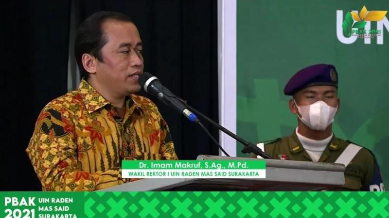 UIN Raden Mas Said Surakarta Kuatkan Moderasi Beragama Melalui PBAK Virtual