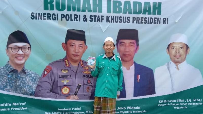 Ribuan Santri Pesantren Pandanaran Yogyakarta Divaksin
