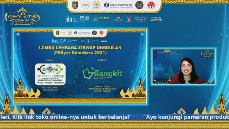 LAZISNU Pringsewu Terpilih Jadi Lembaga ZIS Unggulan Pertama di Lampung