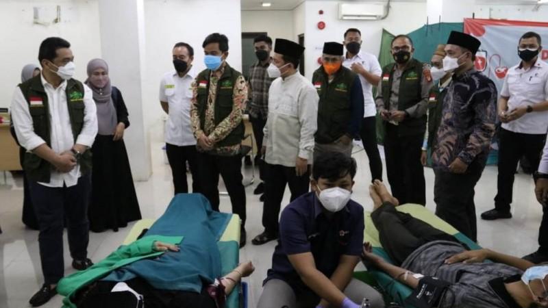 Bagian Jihad Kemanusiaan, PWNU Jakarta Gelar Donor Darah dan Plasma Konvalesen