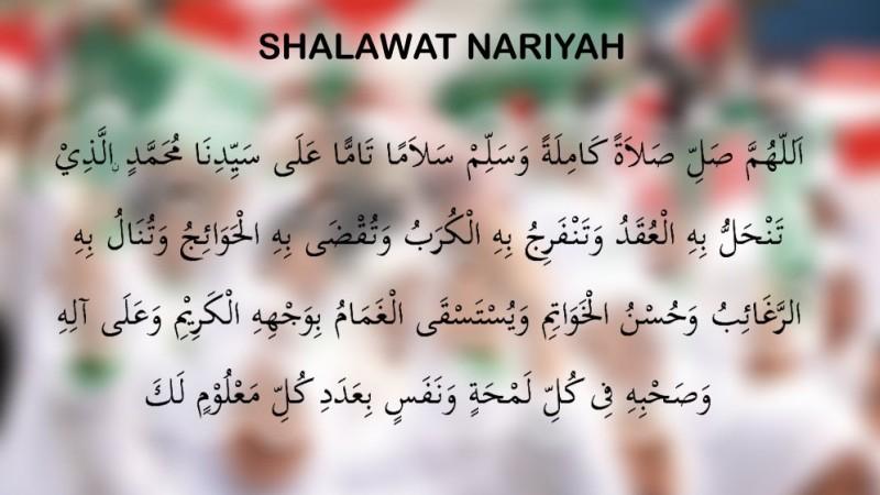 Bacaan Shalawat Nariyah: Arab, Latin, dan Terjemahnya