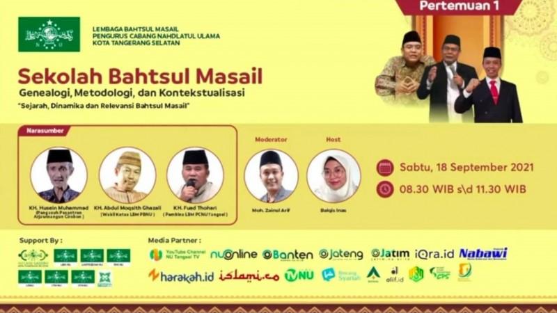Forum Bahtsul Masail Penanda Eksistensi Intelektual Pesantren