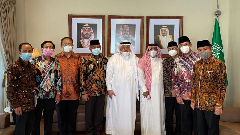 Bertemu Dubes Saudi, Plt Dirjen Lobi Jamaah Umrah Indonesia Bisa Diberangkatkan