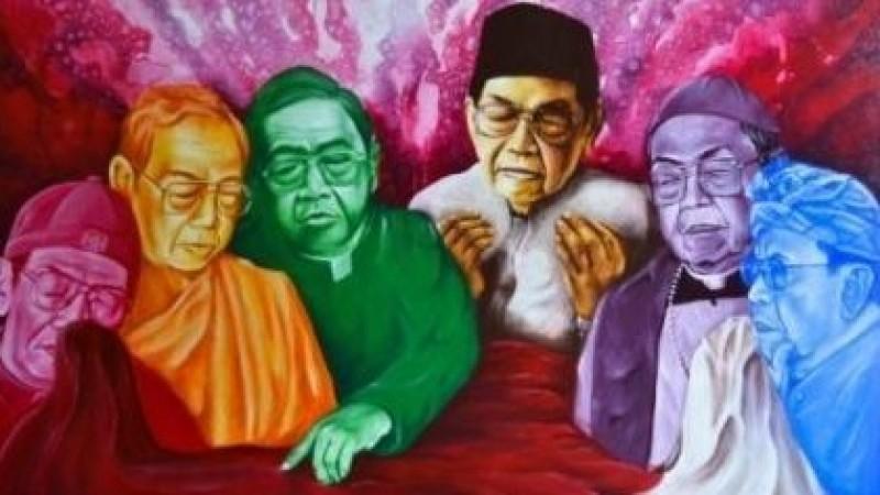 Catatan Hairus Salim atas Buku 'Menatap Lukisan Gus Dur'