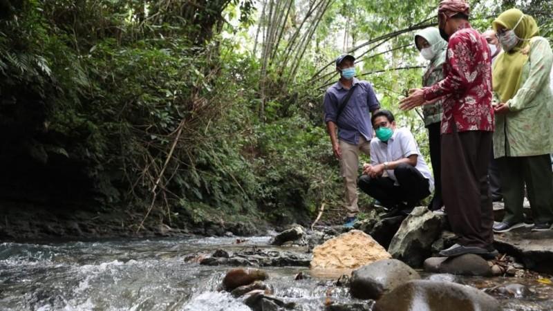 Menteri Desa PDTT Tinjau Desa Wisata Selasari, River Tubing yang Sedot Ribuan Pengunjung