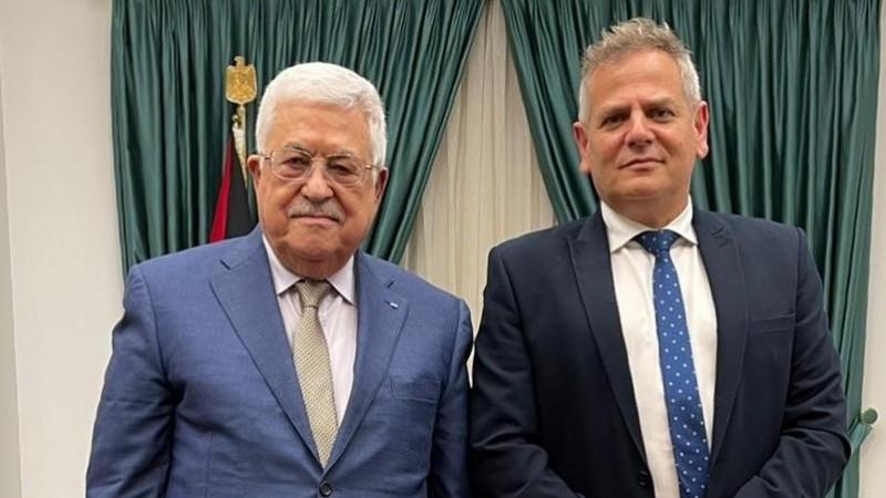 Presiden Mahmoud Abbas saat Bertemu Menkes Israel: Hentikan Pendudukan