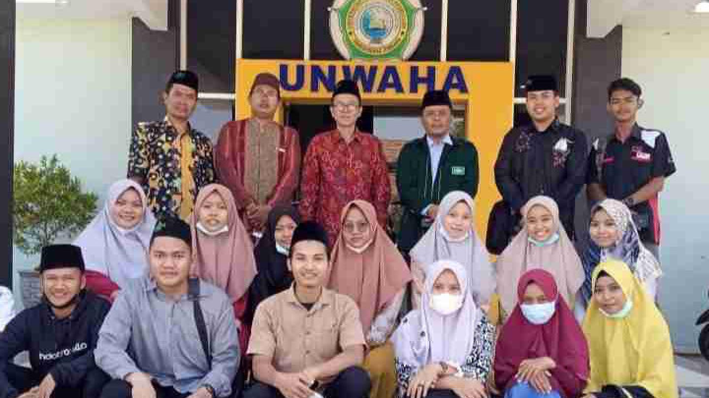 Makin Dikenal, Unwaha Terima Calon Mahasiswa dari Sumatera Selatan