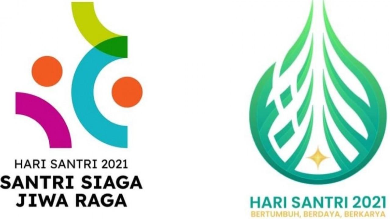 Jangan Bingung, ini Logo Hari Santri Nasional 2021 dalam Dua Versi