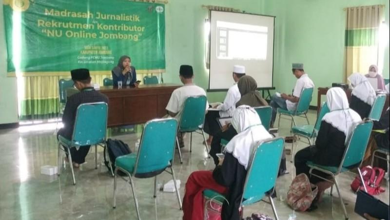 Cara LTNNU Jombang Kader Jurnalis, Langsung Praktik Lapangan