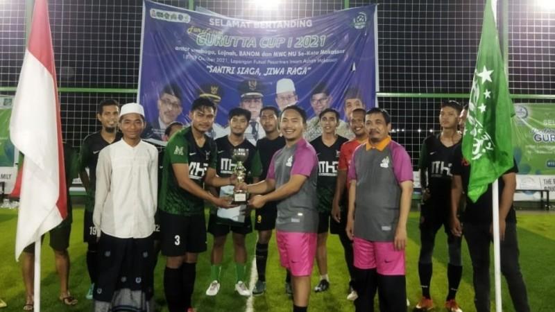 Laga Futsal NU Makassar, Ajang Perkuat Silaturahim Lintas Pengurus