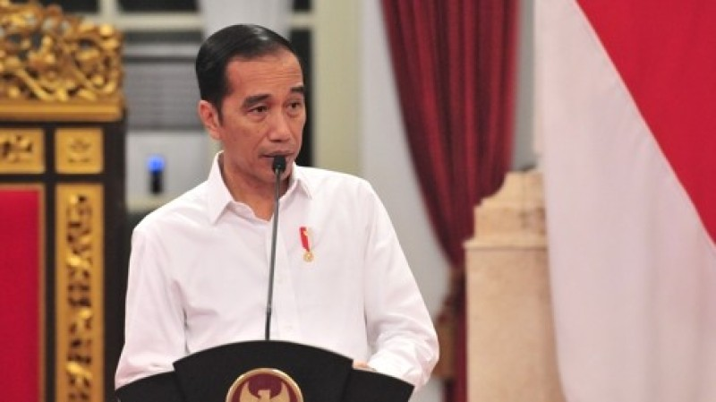 Jokowi Sebut Kasus Covid-19 di Indonesia Makin Membaik