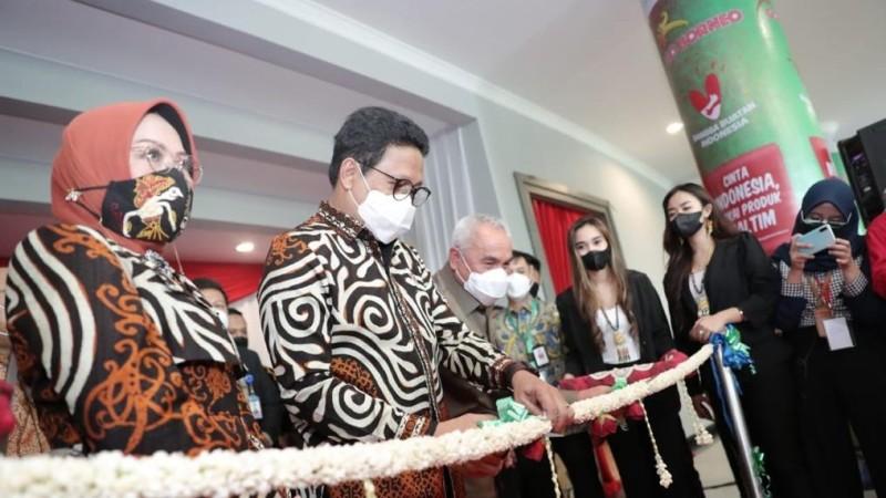 Gerakan Nasional Bangga Buatan Indonesia 'Go Borneo' Diluncurkan