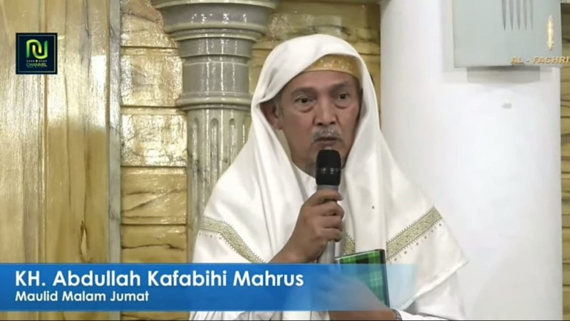 Kiai Kafabihi Ajak Umat Islam Bersyukur Menjadi Umat Rasulullah