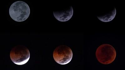 Tujuh Fase Gerhana Bulan Total Hari Ini