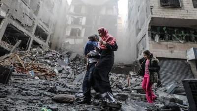 Jumlah Korban Warga Palestina dan Anak-anak dalam 11 Hari Serangan Israel