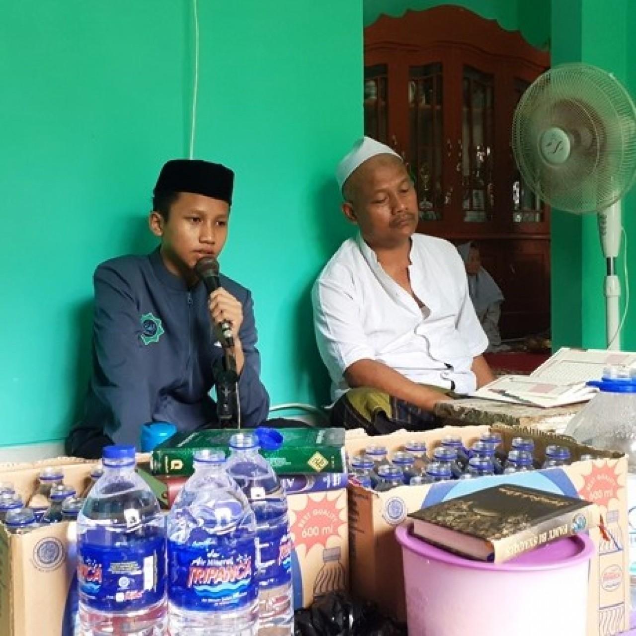 Anak Kaligrafer Lampung Jadi Hafizh Qur'an